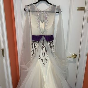 Never worn ballroom competition dress.